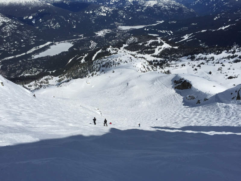Schitag Whistler Blackcomb April 2017